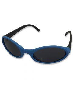 Børne solbrille blød blå/sort