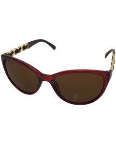 "Solbrille ""Houston"" Rød/brun"