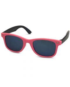 Børne solbrille pink/sort Spejlrefleks