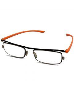 Orange læsebrille