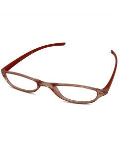Rød læsebrille