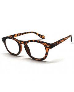 Læsebrille Leopardbrun +2.5 / 250-130