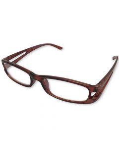 Læsebrille Brun +2.5 / 250-009