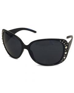 Solbrille Sundance Sort med glitter