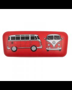 Brilleetui til solbriller eller læsebriller - VW rød